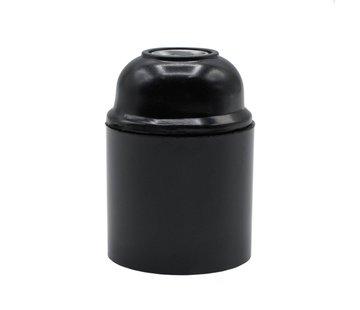 Kynda Light Bakelite Lamp Holder - Black (E27)