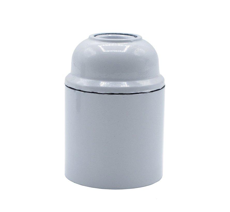 Bakelite Lamp Holder - White (E27)