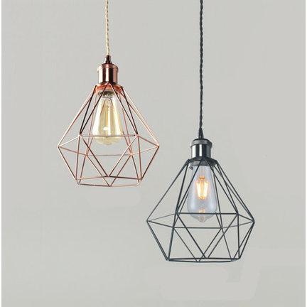 Draadframe (kooi) lampenkappen