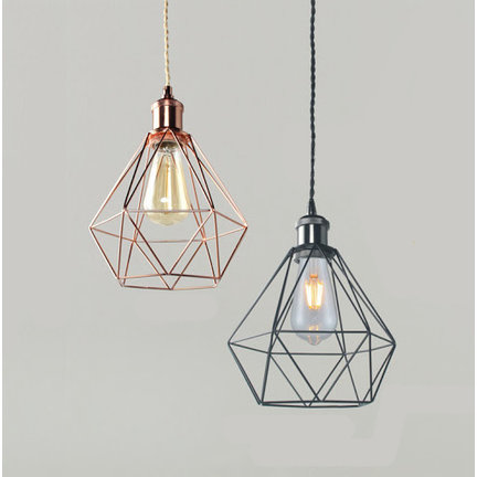 Wire frame (cage) lampshades
