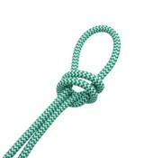 Kynda Light Strijkijzersnoer Wit & Groen - rond - zigzag patroon