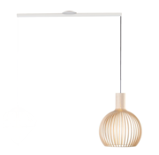 Lightswing Lightswing Single White | Hanging system 1 lamp