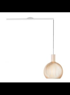 Lightswing Lightswing Single White | Hanging system 1 lamp