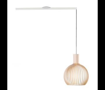 Lightswing Lightswing Single Weiß | Aufhängesystem 1 Lampe