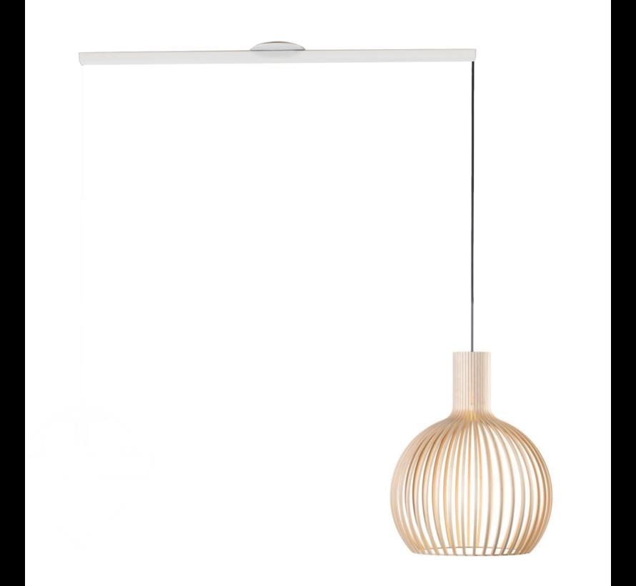 Lightswing Single Wit   Ophangsysteem 1 lamp