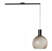 Lightswing Lightswing Single Black | Hanging system 1 lamp