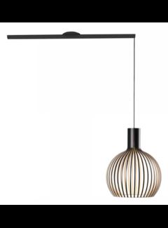 Lightswing Lightswing Single Mat Zwart | Ophangsysteem 1 lamp