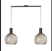 Lightswing Lightswing Twin Mat Zwart | Ophangsysteem 2 lampen