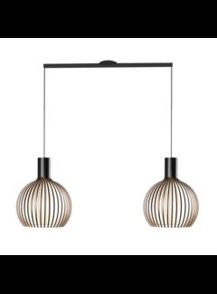 Lightswing Lightswing Twin Black | Hanging system 2 lamps