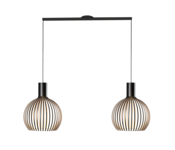 Lightswing Lightswing Twin Black | Hanging system 2 lamps