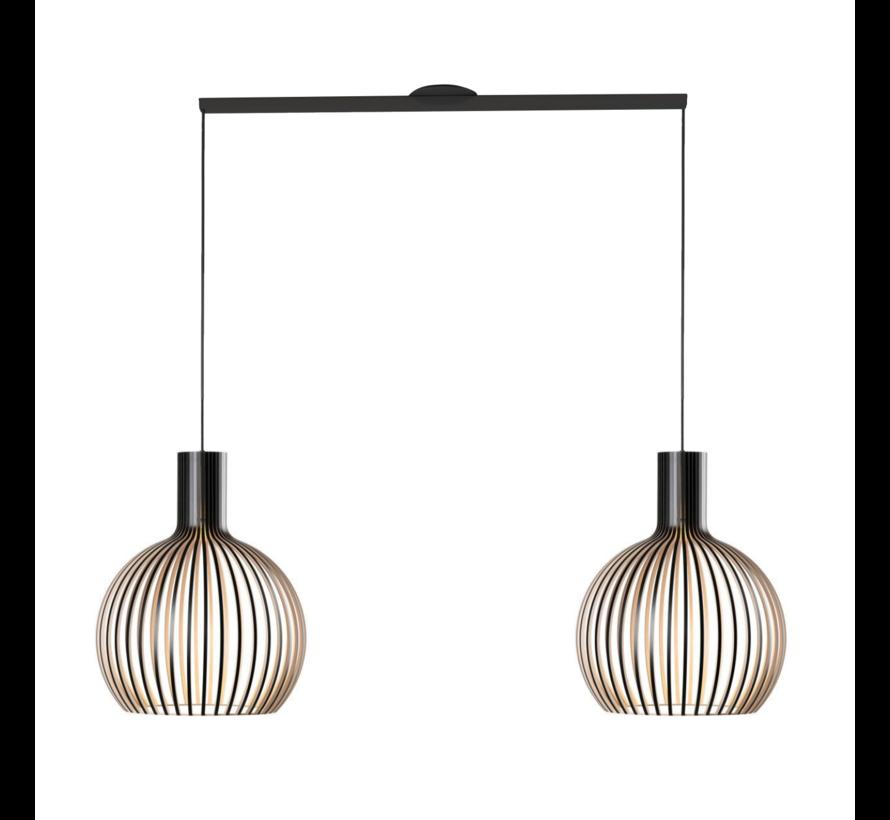 Lightswing Twin Schwarz | Aufhängesystem 2 lampen