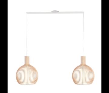 Lightswing Lightswing Twin Wit | Ophangsysteem 2 lampen