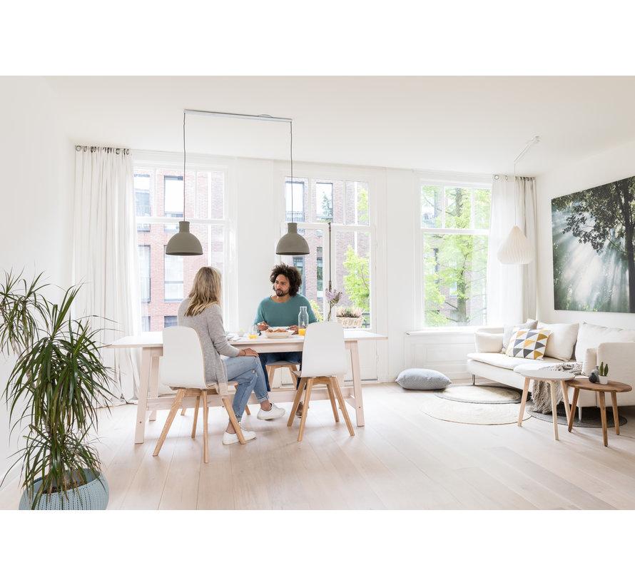 Lightswing Twin Weiß | Aufhängesystem 2 Lampen