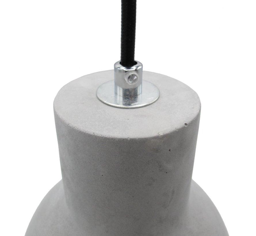 Concrete lampshade / pendant lamp 'Ingvar'