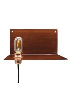 Kynda Light Wall Lamp Metal 'Bjorn' | Dark Bronze XL
