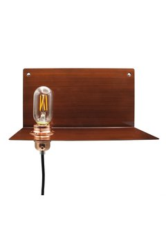 Kynda Light Wandlampe Metall 'Björn'   Bronze XL