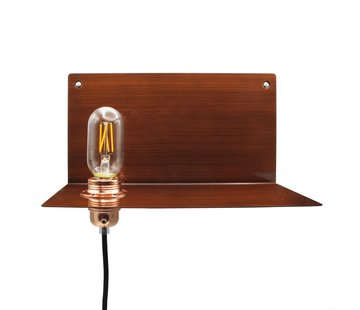 Kynda Light Metalen wandlamp 'Bjorn' | Brons XL