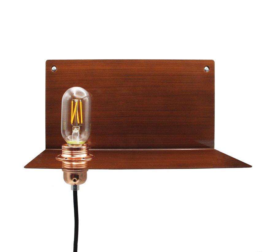 Wandlampe Metall 'Björn' | Bronze XL
