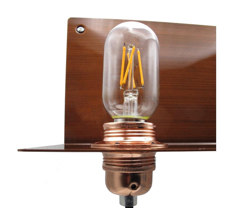 Wall Lamp Metal 'Bjorn' | Bronze XL