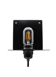 Kynda Light Wall Lamp Metal 'Bjorn'   Black