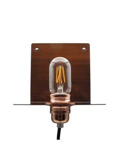 Kynda Light Wall Lamp Metal 'Bjorn'   Bronze