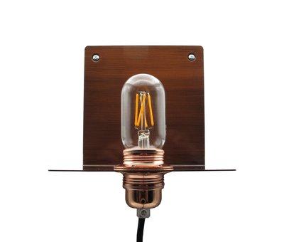 Kynda Light Metalen wandlamp 'Bjorn'   Brons