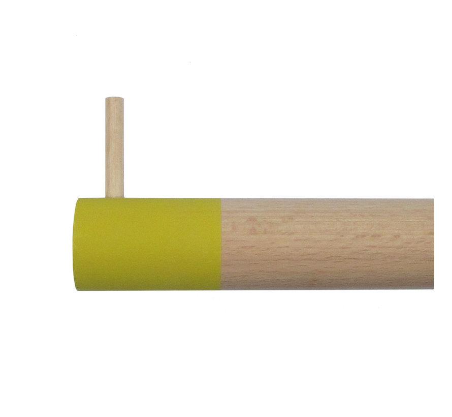 Dippie Stick XL Holz Wandhaken | Misty Mustard