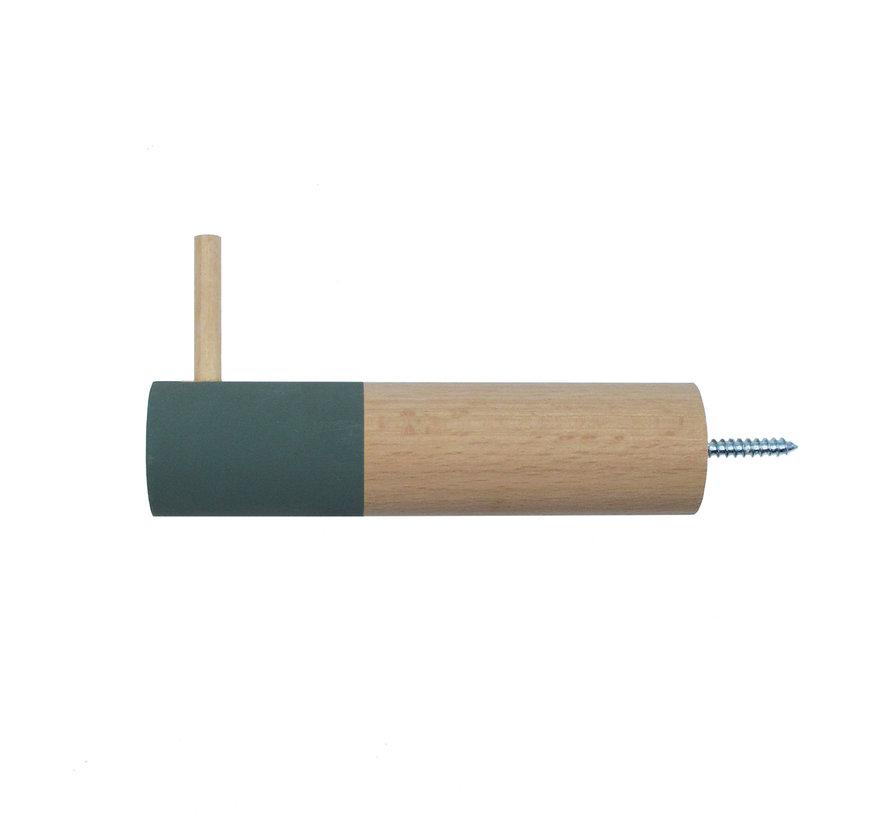 Dippie Stick XL Holz Wandhaken | General Green