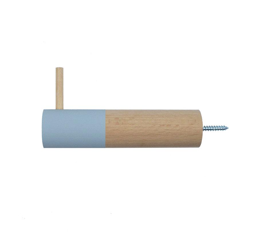 Dippie Stick XL Holz Wandhaken | Bashful Blue