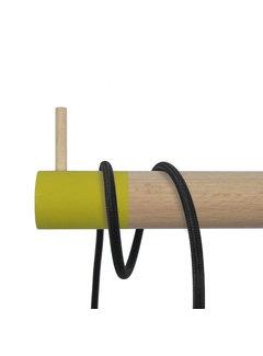 Dippies Dippie Stick XL Holz Wandhaken | Misty Mustard