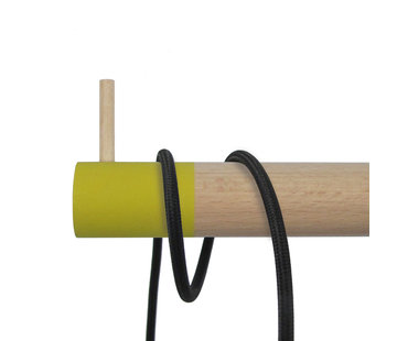 Dippies Dippie Stick XL Holz Wandhaken | Misty Mustard
