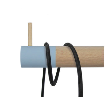 Dippies Dippie Stick XL Holz Wandhaken | Bashful Blue