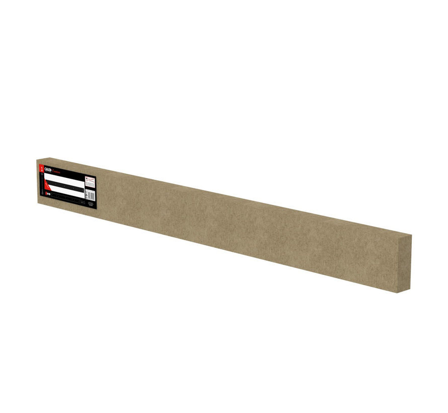 Calex ceiling plate 5-holes - 130cm matt black