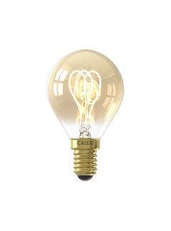 Calex LED-Lampe Gold - Kugellampe - 4W E14