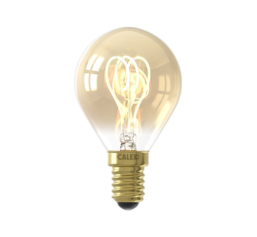 LED-Lampe Gold - Kugellampe - 4W E14
