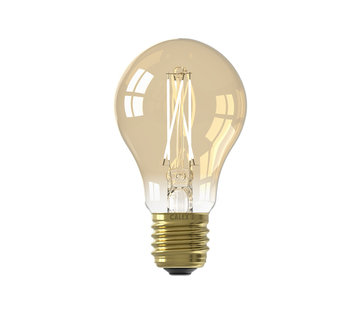 Calex LED lamp goud A60 Peer E27 (CRI80) - 6,5W