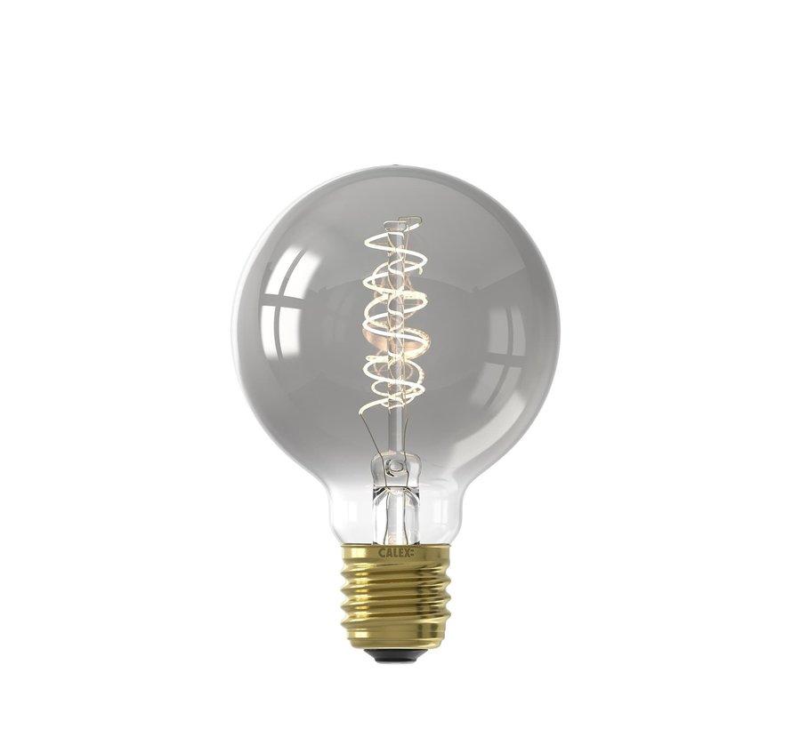 LED lamp titanium GLB80 Globe E27