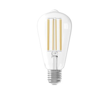 Calex Clear LED Bulb ST64 Squirrel Cage E27