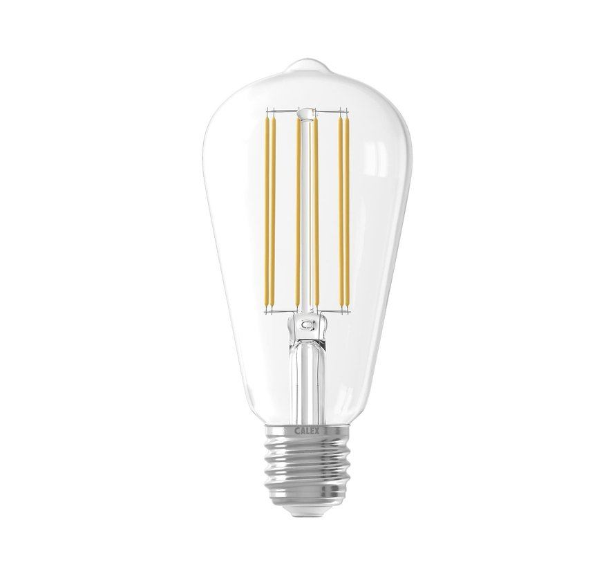 LED lamp helder ST64 Squirrel Cage E27