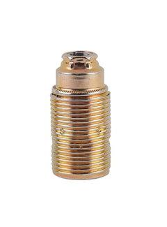 Kynda Light E14 Fassung Metall (geerdet) mit Außengewinde   Messing