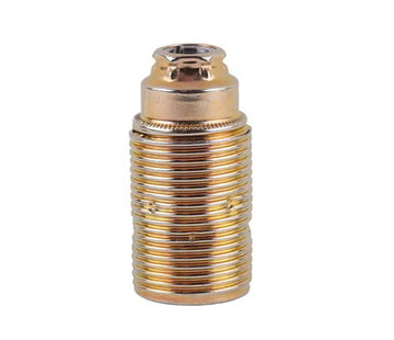 Kynda Light Metal Lamp Holder External Threaded | Brass