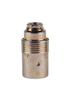 Kynda Light Metal Lamp Holder External Threaded | Brass - Copy