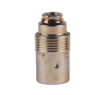 Kynda Light E14 Fassung Metall (geerdet)   Messing