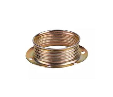 Kynda Light Metalen schroefring voor E14 fitting - ⌀40mm | Messing