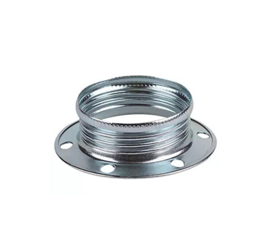 Metall Schraubring / Stellring E14 - ⌀40mm | Chrom