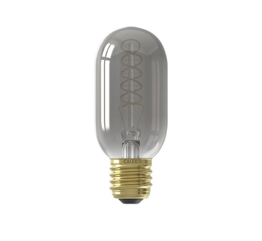 LED lamp Flex Filament - Buislamp T45 - 4W E27 - 2100 K - Dimbaar | Titanium