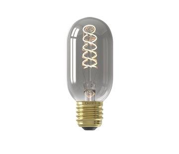 Calex LED-Lampe - Flex Filament - Röhrenlampe T45 - 4W E27 | Titanium