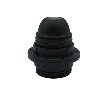 Kynda Light Kunststof Fitting E27 met twee schroefringen | Zwart