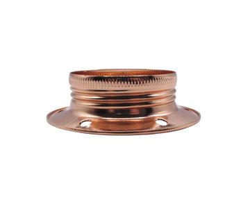 Kynda Light Metalen schroefring E27 - ⌀60mm | Koper