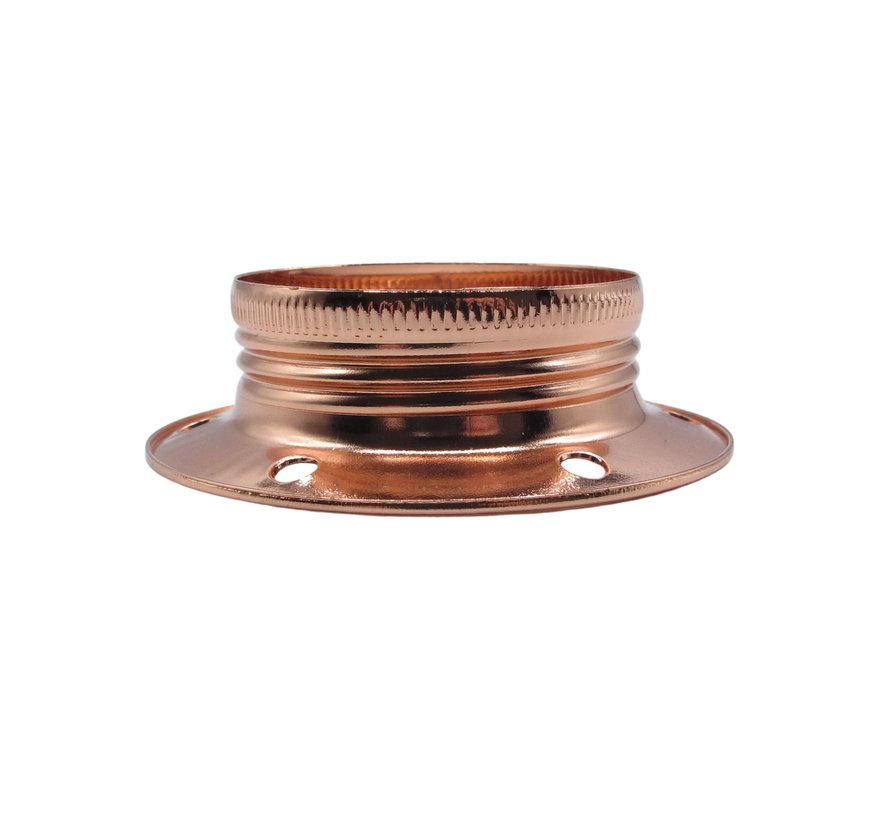Ring voor E27 fitting met buitenschroefdraad | Koper